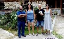 La consellera de Turisme Bages visita el Geoparc de Guadalajara