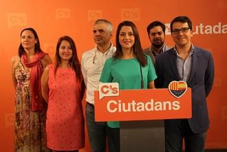 Vés a: Arrimadas demana a Iceta que tingui la «generositat» de donar suport a Ciutadans