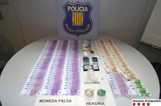 Vés a: Dos detinguts per vendre bitllets falsos i traficar amb droga a Lleida