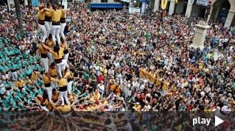 Vés a: VÍDEO La diada castellera de Vilanova i la Geltrú