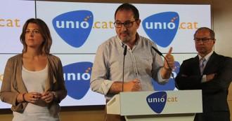 Vés a: Ramon Espadaler situa Unió com «l'única força política no independentista que té Catalunya com a prioritat»