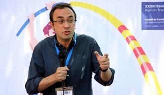Josep Rull repta els candidats del «no» a convèncer els catalans i deixar de banda les amenaces