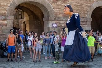 Totes les fotos de la Festa Catalana al Castell de Montjuïc