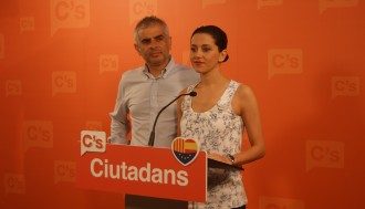 Vés a: Inés Arrimadas: «Som l'única opció política capaç de guanyar Mas i ERC»