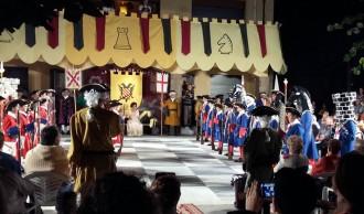 La Pobla de Lillet viu la batalla de Barcelona de 1704 amb escacs vivents