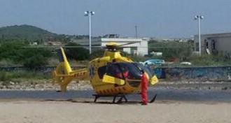 Mor un home de 80 anys a la platja de les Madrigueres del Vendrell