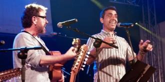 Tret de sortida del Música a la Vila del Vendrell amb Miquel Gil i Pep Gimeno