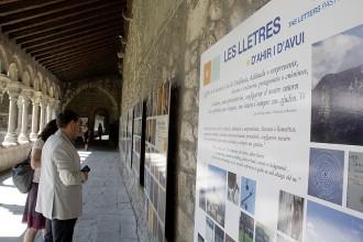 Una exposició posa de relleu el ric patrimoni lletrístic de l'Alt Urgell