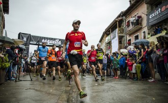 Més de 300 corredors planten cara a la pluja a l'Esquella de Pardines