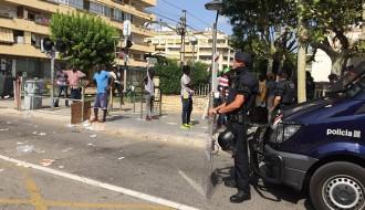 Els mossos declaren que no van mantenir contacte físic amb Mor Sylla