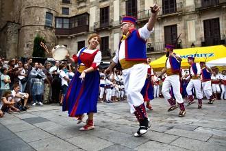 Clímax de les festes de Sant Roc de Barcelona