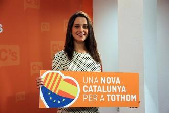 L'eslògan de Ciutadans, «calcat» al que va fer servir ERC el 2012