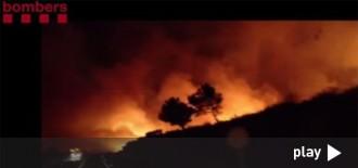 Els Bombers donen per extingit l'incendi a Calafat