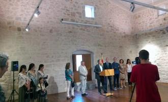 Gandesa lluïx el palau del Castellà un cop renovat en una primera fase