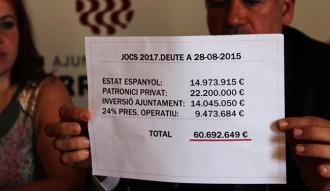 Esquerra titlla de «pagafantes» l'organització dels Jocs a Tarragona