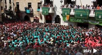DIRECTE La diada castellera de Sant Fèlix