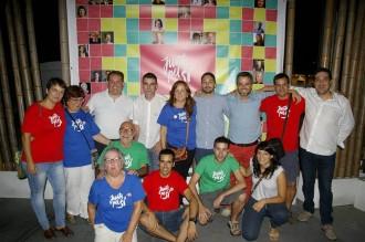 Prop de 400 persones participen de la Festa Jove de Junts pel Sí