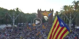 Vés a: VÍDEO Festa dels candidats de Junts pel Sí a Barcelona