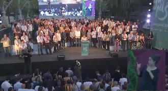 Vés a: Junts pel Sí reuneix centenars de persones a la Festa dels candidats