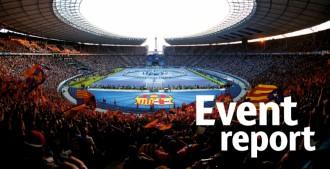 La UEFA inclou una estelada en un informe oficial, després de la multa al Barça