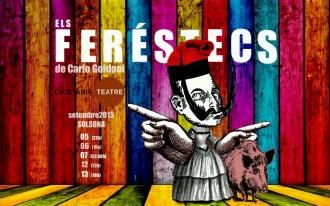 Lacetània Teatre porta a Solsona aquesta Festa Major ELS FERÈSTECS