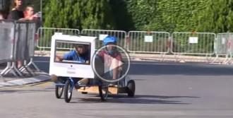 VÍDEO  Baixada de vehicles sense motor a Matadepera