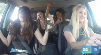 El vídeo de karaoke al volant amb final inesperat