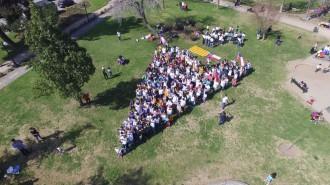 Vés a: Punter des de Santiago de Xile per indicar el camí cap a la independència