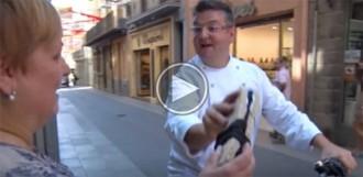 Vídeo: Pep Nogué es prepara per pronunciar el pregó de festes