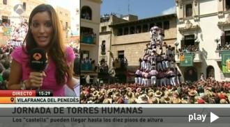 Els «Minions de Terrassa» en el Sant Fèlix d'Antena 3