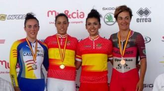 Helena Casas torna del Campionat estatal carregada de medalles