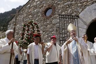 Vall de Núria celebra la festivitat de Sant Gil
