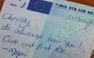 L'emotiva història d'amor amagada en un bitllet de 20 euros