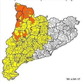Les pluges tornen aquesta tarda al Berguedà