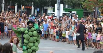 La Festa Major Infantil s'acaba celebrant els 15 anys del Picapoll