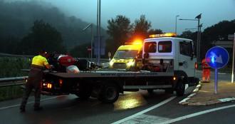 Vés a: Mor un motorista en accident de trànsit a les Borges del Camp