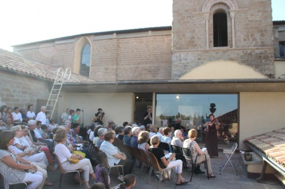 Arquitectura i música a la terrassa del Museu