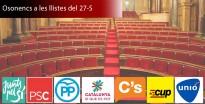 Tots els candidats d'Osona a les eleccions del 27 de setembre