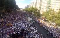 Espectaculars vídeos de la Via Lliure des de l'enxaneta dels Picapolls