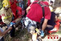 Vés a: Una veïna de Ripoll queda ferida en caure als molins de Vilardell