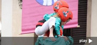 La diada infantil de Vilafranca, en directe via 'streaming'