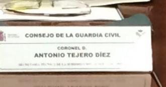 Interior col·loca el fill del colpista Tejero al Consell de la Guàrdia Civil