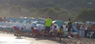 Mor a l'hospital la dona embarassada que va estar a punt d'ofegar-se en una platja de Tarragona