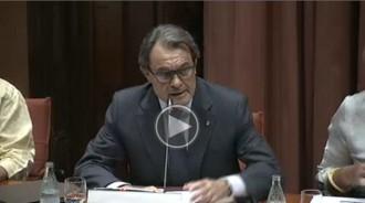 Vés a: EN DIRECTE Compareixença d'Artur Mas a la diputació permanent del Parlament