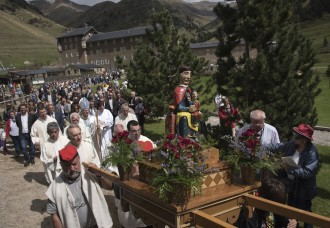Vall de Núria celebra la festivitat de la Mare de Déu