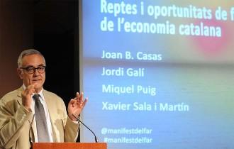 Miquel Puig: «Encara que volguéssim sortir de l'euro i la UE, no ens deixarien»