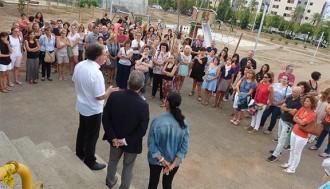 Granados anuncia la construcció d'una nova biblioteca prop del Centre Atenea