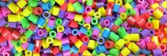 Les perles Hama, aquells cilindres de plàstic de colors que es planxen