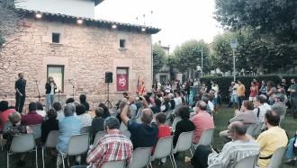 Junts pel Sí presenta les seves credencials a Prats a ritme d'Els Catarres
