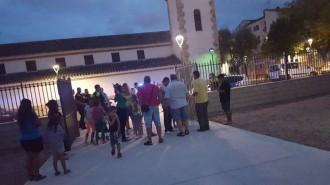 Tiroteig en una plaça de Torreforta amb nens davant